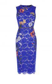 Karen Millen Lace Embroidered Pencil Dress at Karen Millen