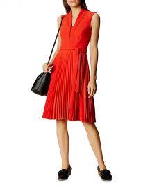Karen Millen Pleated Dress at Bloomingdales