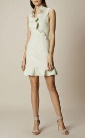 Karen Millen Ruffle Mini Dress at Karen Millen