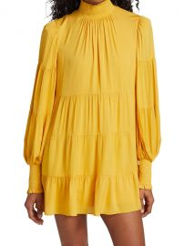 Karena Smocked Babydoll Dress at Saks Fifth Avenue