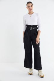 Karina Belted Paperbag Jean at Urban Outfitters
