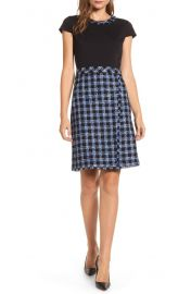 Karl Lagerfeld Paris Tweed Sheath Dress   Nordstrom at Nordstrom
