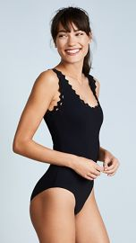 Karla Colletto Reina Rick Rack One Piece Swimsuit at Shopbop