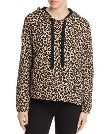 Kassidy Leopard Print Hooded Sweatshirt at Bloomingdales