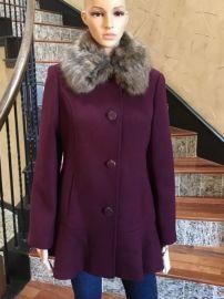 Kate Spade Fur Collar Coat at eBay