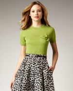 Kate Spade Kit sweater on Glee at Neiman Marcus