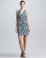 Kate Spade Mira floral dress at Neiman Marcus