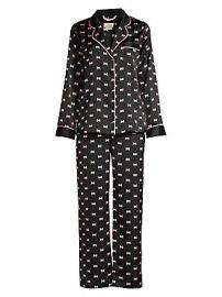 Kate Spade New York - Evergreen 2-Piece Long Pajama Set at Saks Fifth Avenue