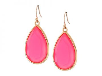 Kate Spade New York Day Tripper Earrings Flo Pink at 6pm