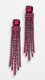 Kate Spade New York Glitzville Chain Fringe Earrings at Shopbop