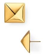 Kate Spade Pyramid earrings at Bloomingdales