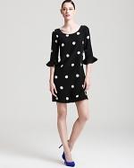 Kate Spade black Maria dress at Bloomingdales