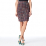 Kate Spade judy tweed skirt on The Mindy Project at Kate Spade