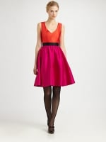 Kate Spade silk normandy dress on Glee at Saks at Saks Fifth Avenue