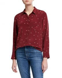 Kate Stars Silk Shirt at Neiman  Marcus