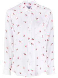 Kate watermelon print silk shirt at Farfetch