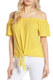 Kathie Off the Shoulder Top by Cupcakes and Cashmere at Nordstrom Rack