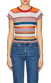Katie Metallic Striped T-Shirt at Barneys