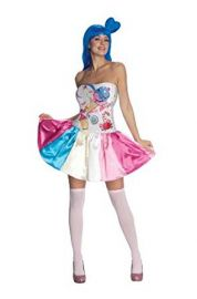 Katy Perry Secret Wishes Candy Girl Costume at Amazon