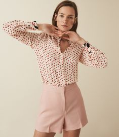 Kaya Blouse by Reiss at Reiss