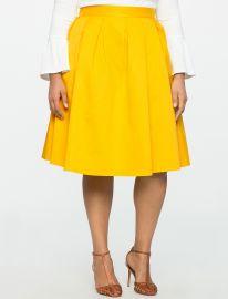 Kaya Midi Skirt at Eloquii