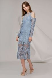 Keepsake Reach Out Long Sleeve Midi Dress at Fashion Bunker