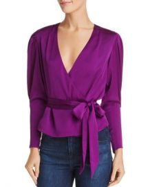 Keepsake Infinity Bishop-Sleeve Floral Top  Women - Bloomingdale s at Bloomingdales