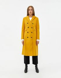 Kellie Double Breasted Coat at Need Supply