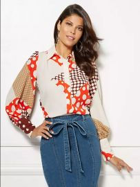 Kelsey Blouse - Eva Mendes Collection  at NY&C