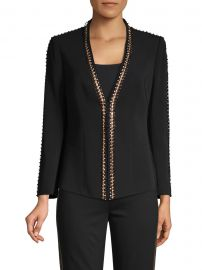 Ken Embellished Trim Jacket at Saks Fifth Avenue