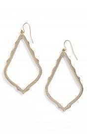 Kendra Scott  Sophee  Textured Drop Earrings at Nordstrom