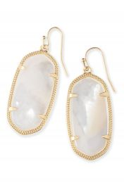 Kendra Scott Elle Filigree Drop Earrings at Nordstrom