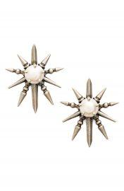 Kendra Scott Rogan Pearl Stud Earrings at Nordstrom