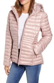 Kenneth Cole New York Packable Hooded Puffer Jacket   Nordstrom at Nordstrom
