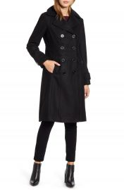Kenneth Cole New York Wool Blend Military Coat   Nordstrom at Nordstrom