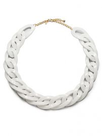 Kenneth Jay Lane - Chunky Link Necklace at Saks Fifth Avenue