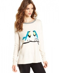Kensie Bird Sweater at Macys