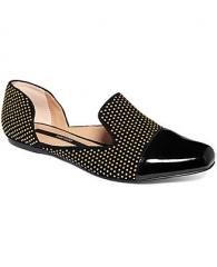 Kensie Evan Studded Smoking Flats - Shoes - Macys at Macys