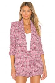 Kenzie Double Breasted Blazer at Revolve