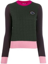 Kenzo Beaded Eye Motif Jumper - Farfetch at Farfetch