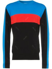 Kenzo Block Colour Striped Sweater - Farfetch at Farfetch