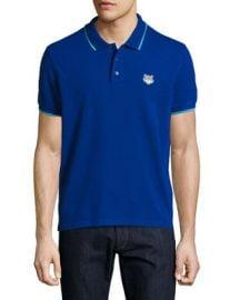 Kenzo Classic Contrast-Tip Polo Shirt   Neiman Marcus at Neiman Marcus