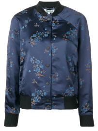 Kenzo Floral Embroidered Bomber Jacket - Farfetch at Farfetch