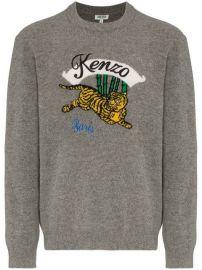 Kenzo Jumping Tiger Sweater - Farfetch at Farfetch