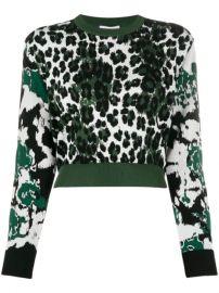 Kenzo Leopard Intarsia Jumper - Farfetch at Farfetch