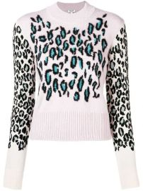 Kenzo Leopard Jacquard Jumper - Farfetch at Farfetch