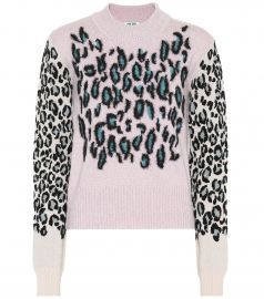 Kenzo Leopard Sweater at Mytheresa