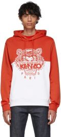 Kenzo Limited Edition Colorblock Tiger Hoodie at SSENSE