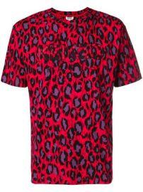 Kenzo Logo Leopard Print T-shirt - Farfetch at Farfetch