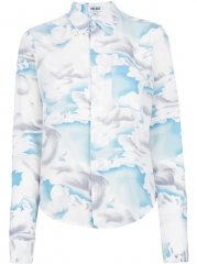 Kenzo day Clouds Silk Shirt - Smets at Farfetch